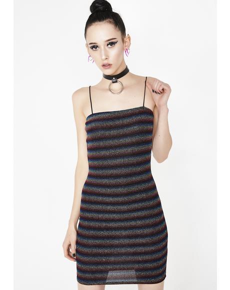 Freakum Out Stripe Dress