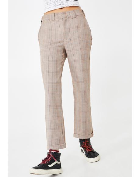 Glenn Plaid Work Pants