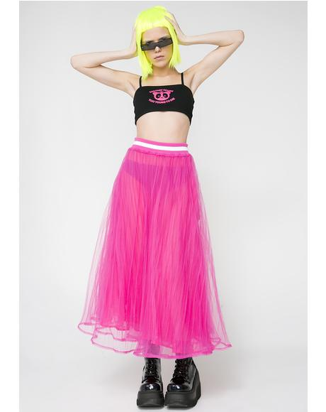 Cody Tulle Skirt
