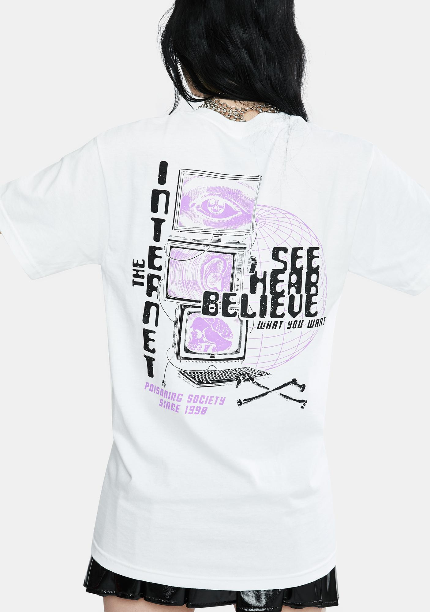 Flying Coffin The Internet Graphic Tee