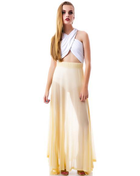 70s Wildfox Groupie Skirt