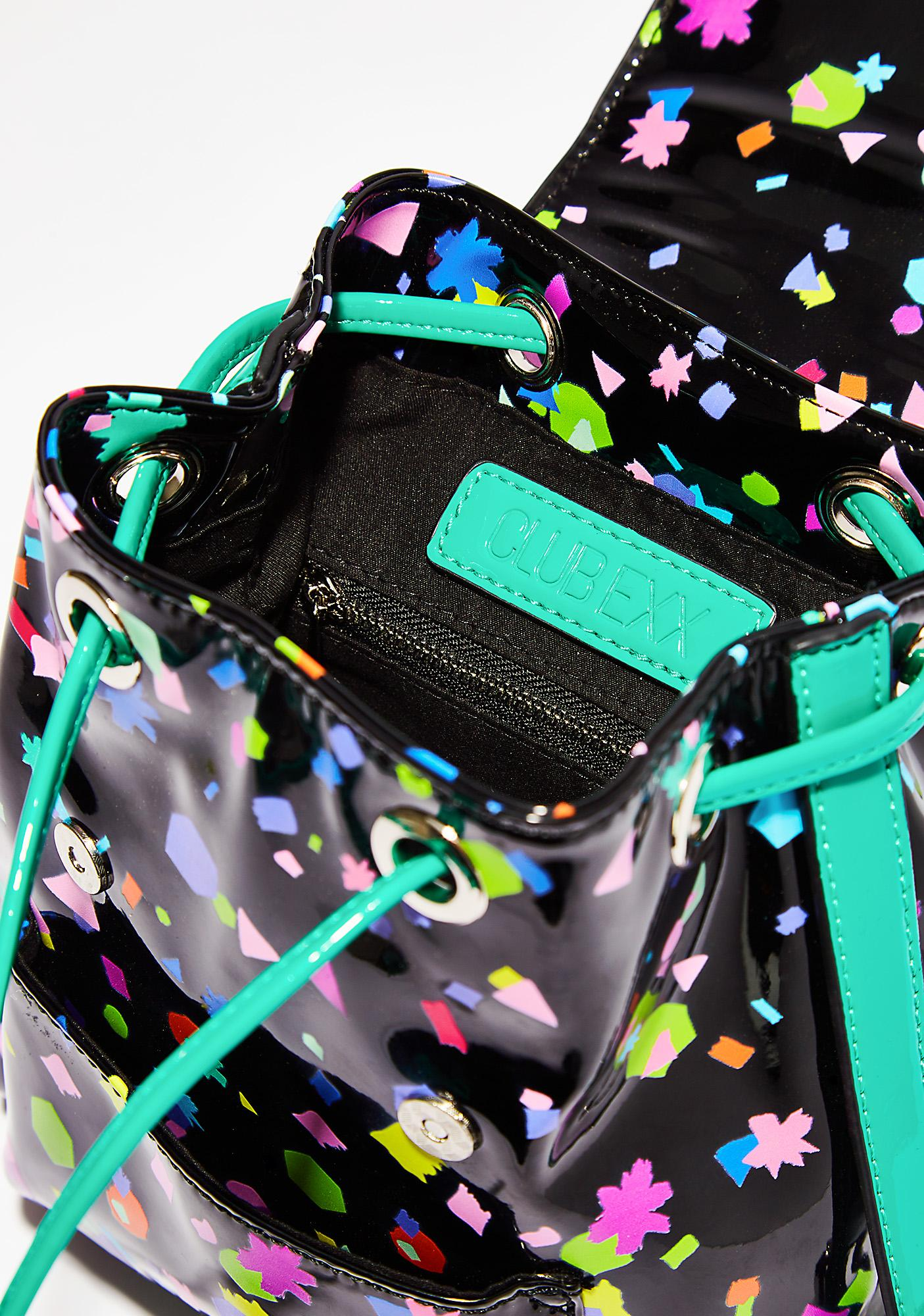 Club Exx Untamed Confetti Mini Backpack