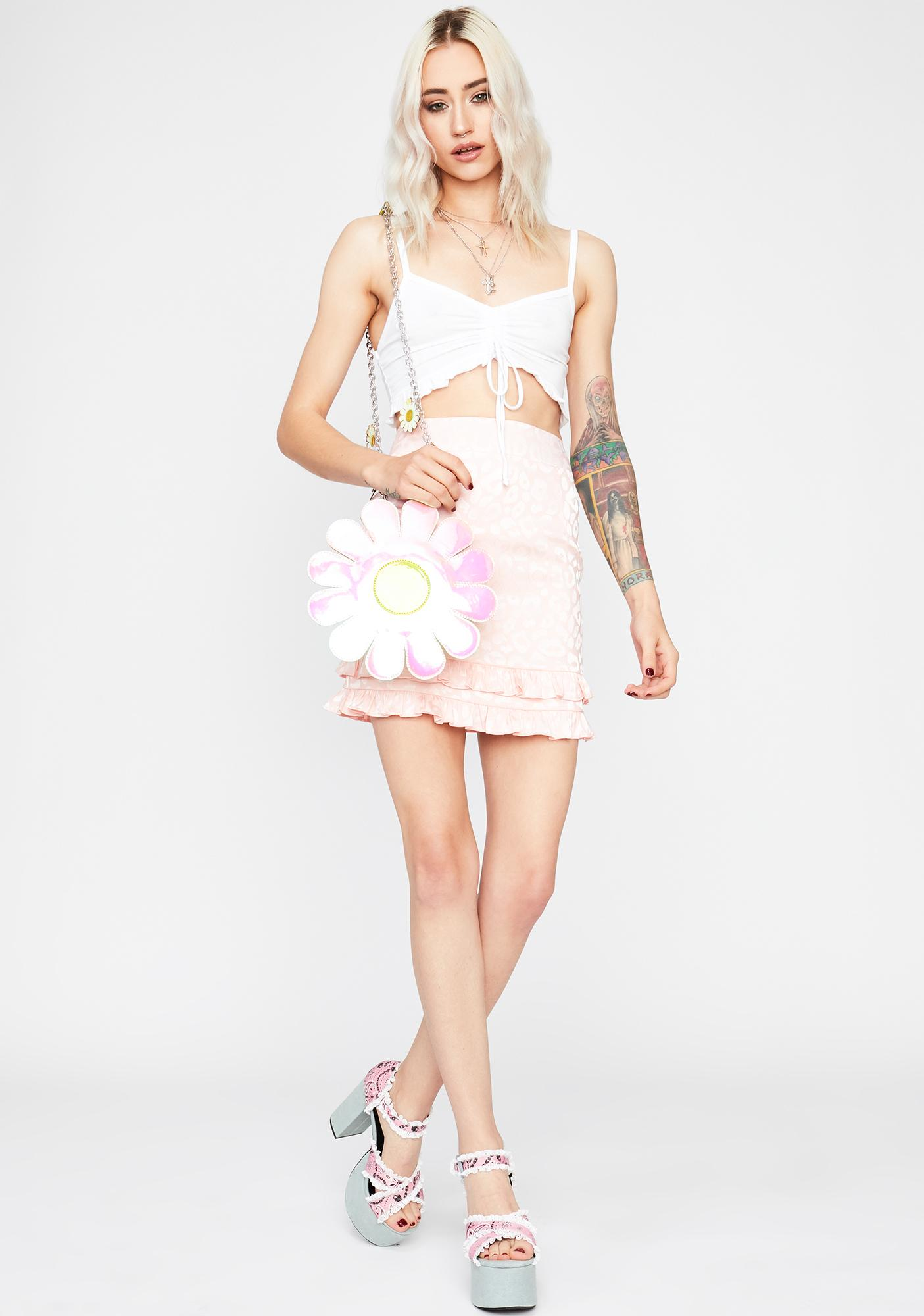 Fierce For U Leopard Mini Skirt