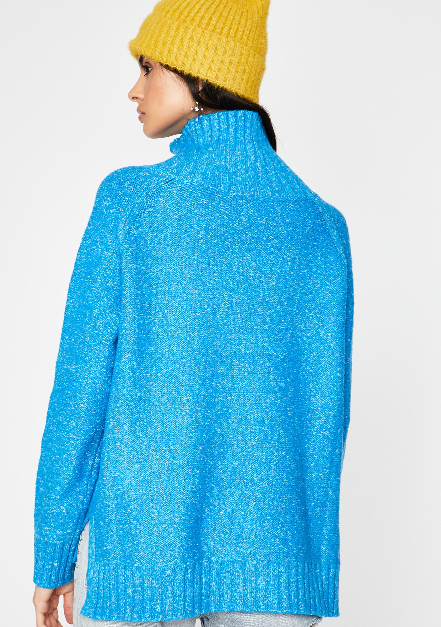 Bright Vibes Turtleneck Sweater