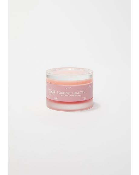 Grapefruit Scrubski & Balmer Lip Exfoliator
