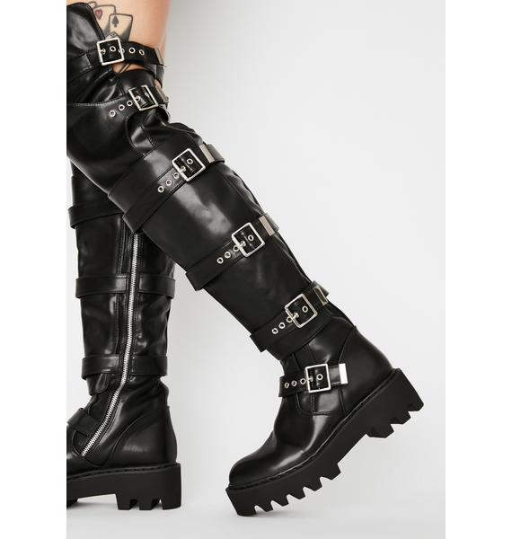Lamoda Never Ending Thigh High Boots