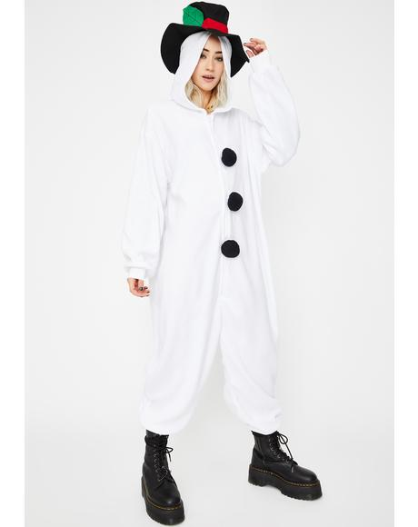 Winter Bae Snowman Onesie