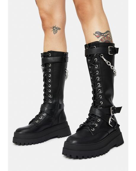 Amari Combat Boots