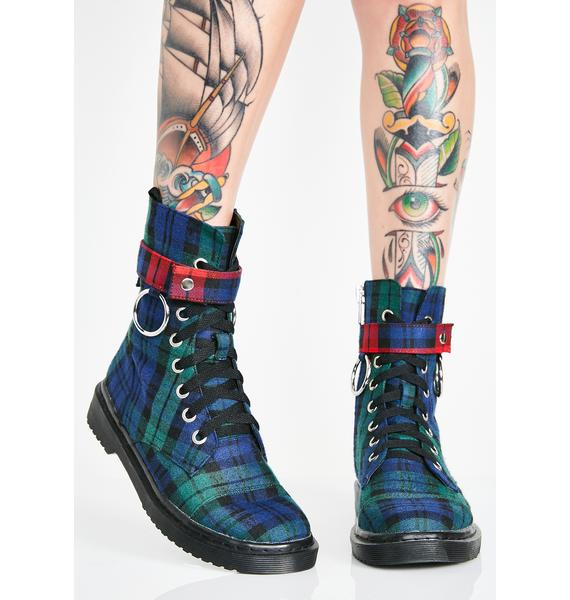 Current Mood Rebel Behavior Combat Boots
