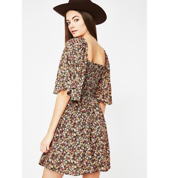 Wonderlust Flowy Mini Dress