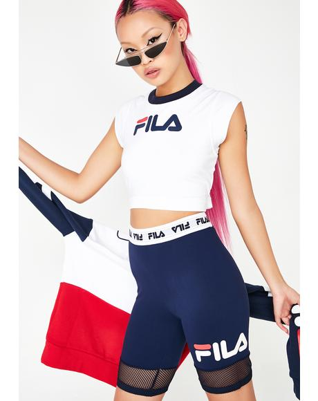 Pia Archive Crop Top