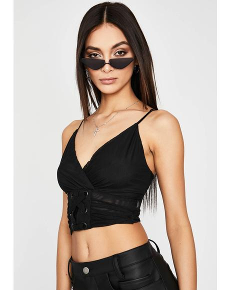 Actin' Wicked Crop Top
