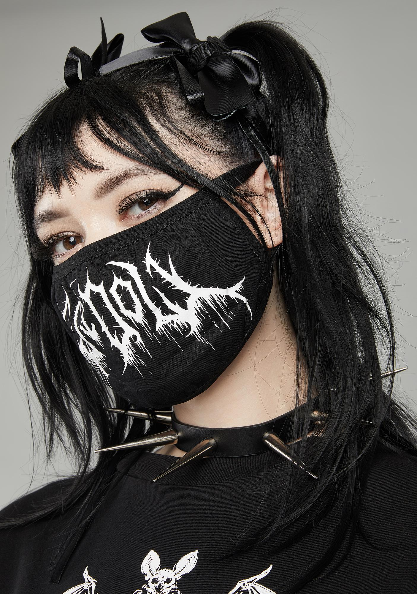 Widow Idol Of Death Face Mask