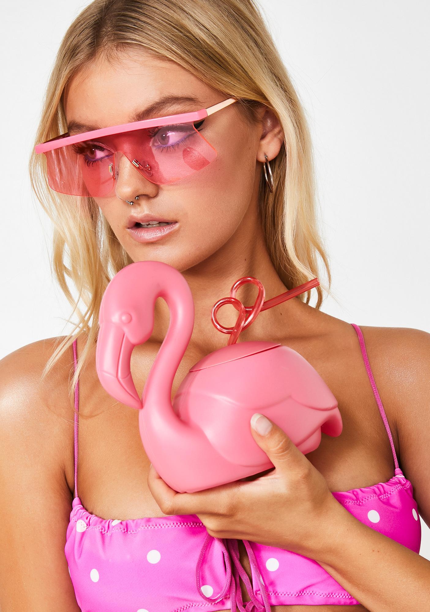 Flocking Fabulous Flamingo Cup