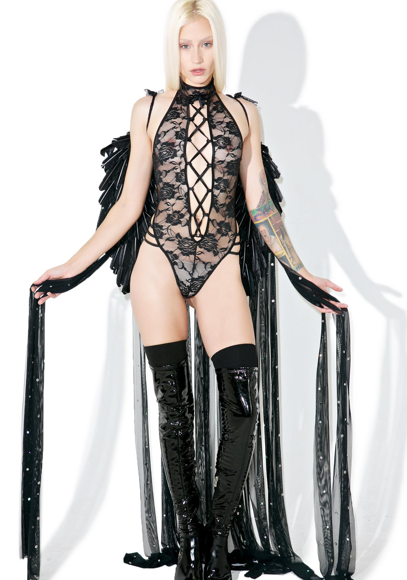 Dark Glamour Full Length Wings