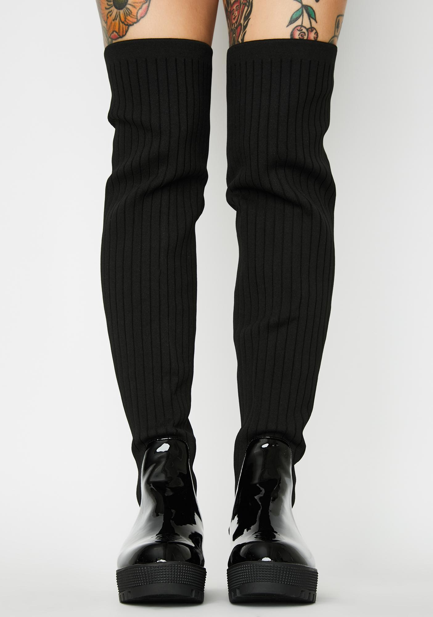 Baddie Bae Knee High Boots