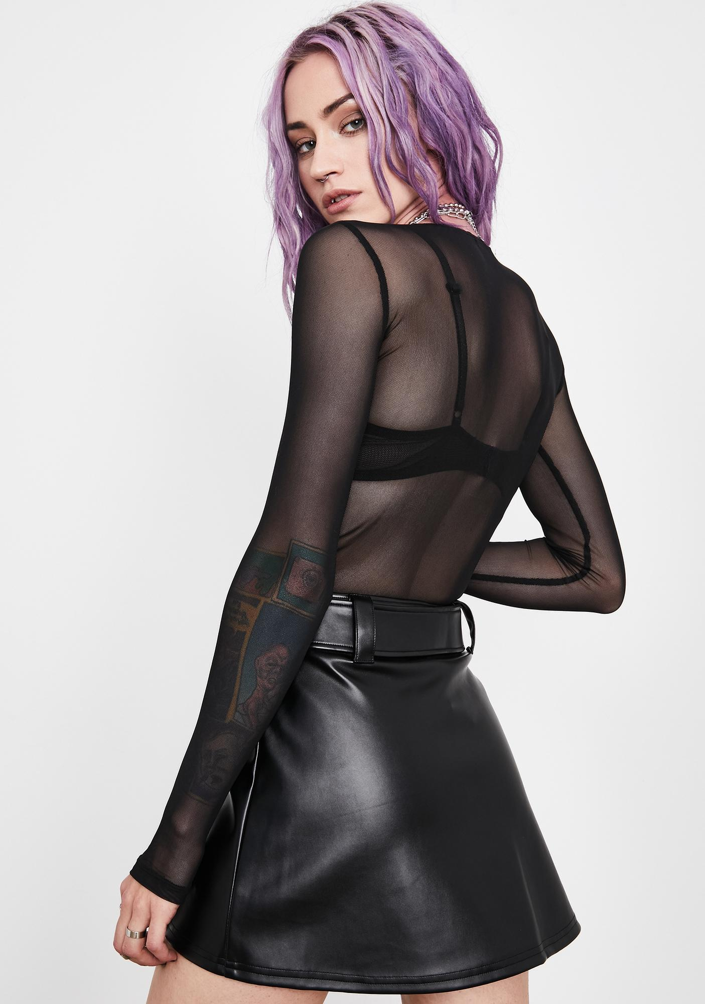 Current Mood Hyperflux Drive Mini Skirt
