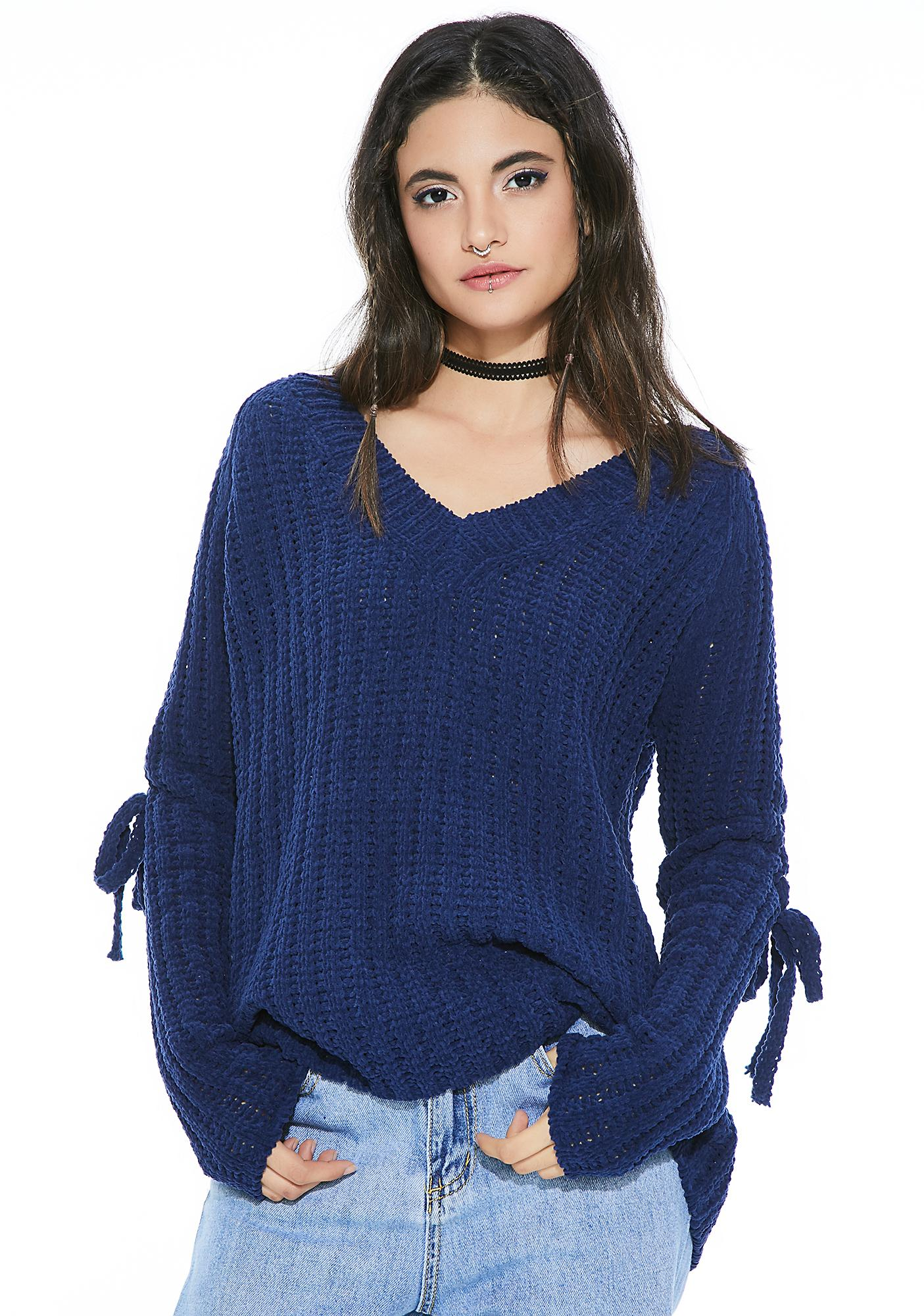 Straight Laced Knit Sweater