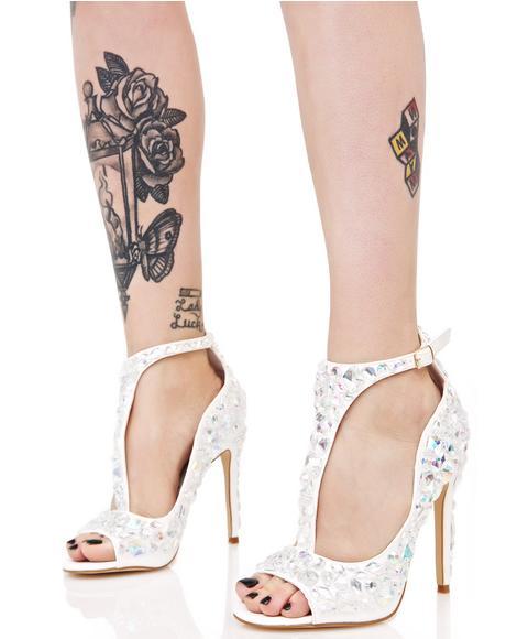 Mirage Jeweled Heel