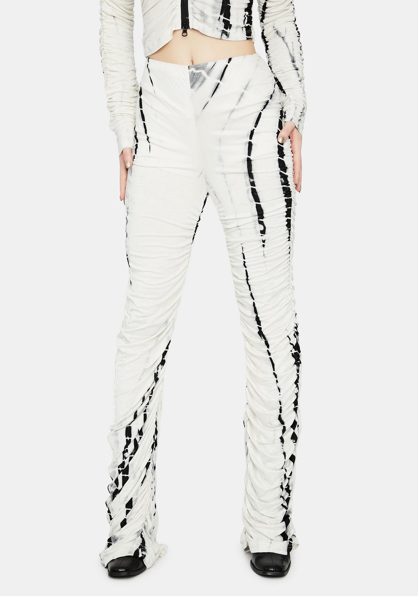 Parallel Passion Ruched Pants
