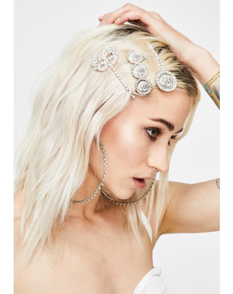 Secret Riches Rhinestone Hair Pins