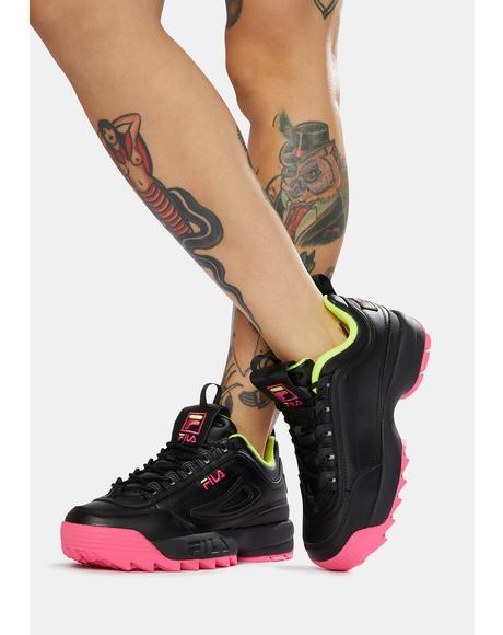 Volt Disruptor II Premium Sneakers
