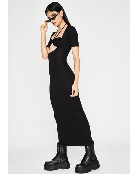 Dark Makin Headlinez Maxi Dress