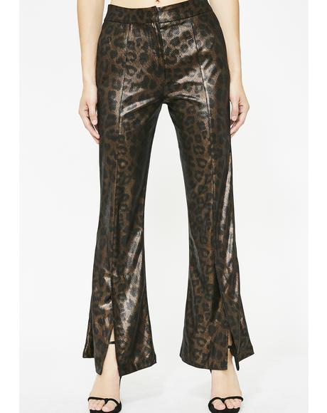 Savage Cat Leopard Pants