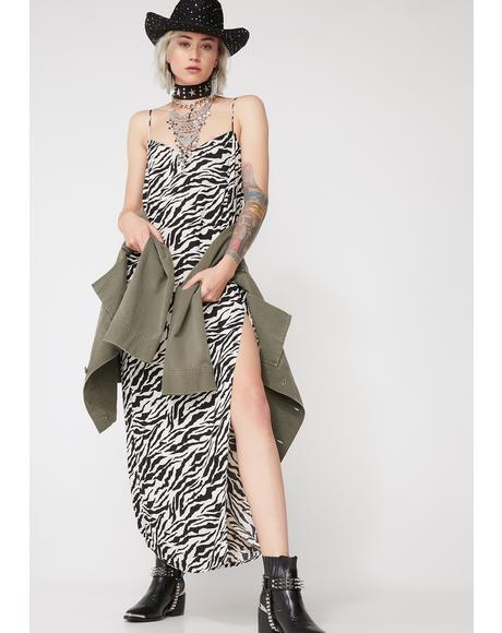 Zebra Batis Dress