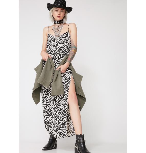 Motel Zebra Batis Dress