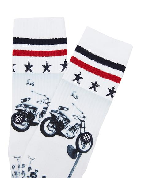 Dare Devil Socks