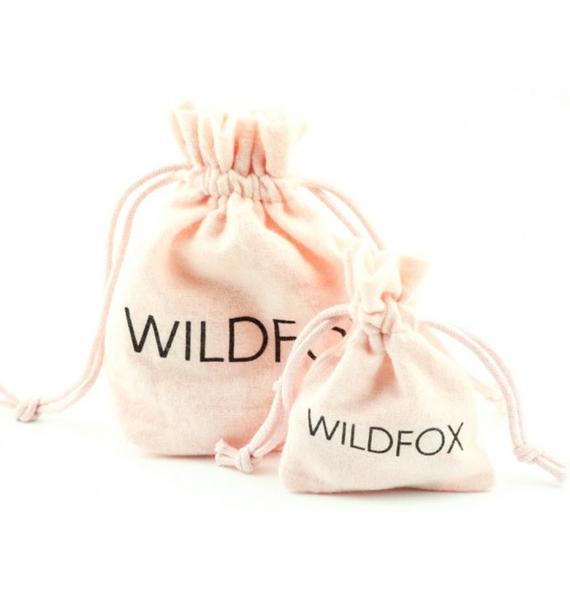 Wildfox Couture Black Hematite Mini Skull Necklace