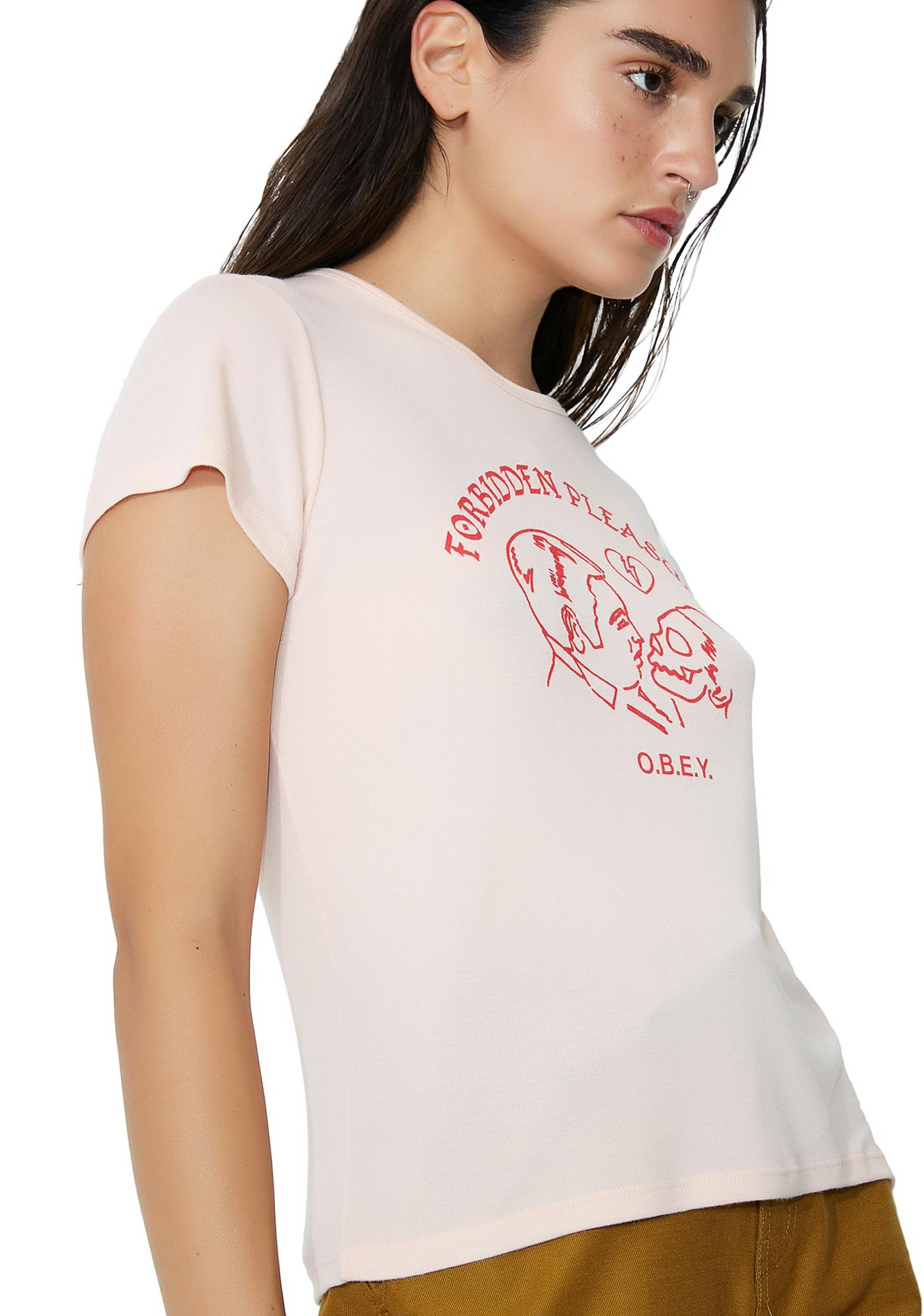 Obey Forbidden Pleasures Babydoll Tee