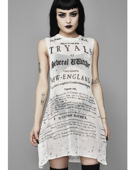 Pure Witch Trials Tank Top