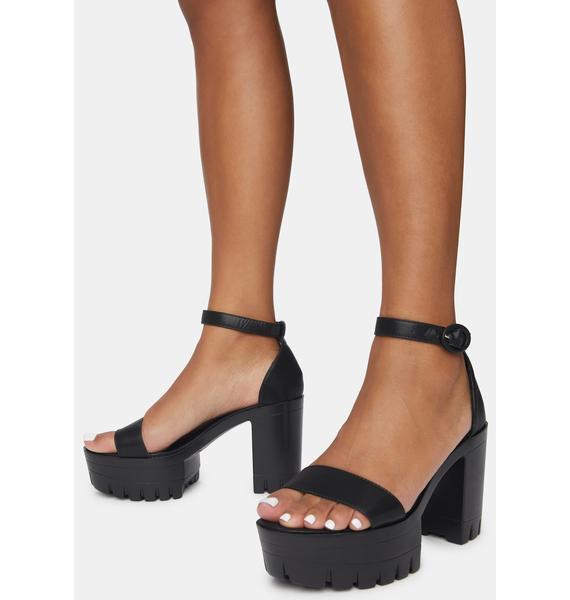 Wicked Hottie Hotspot Platform Heels