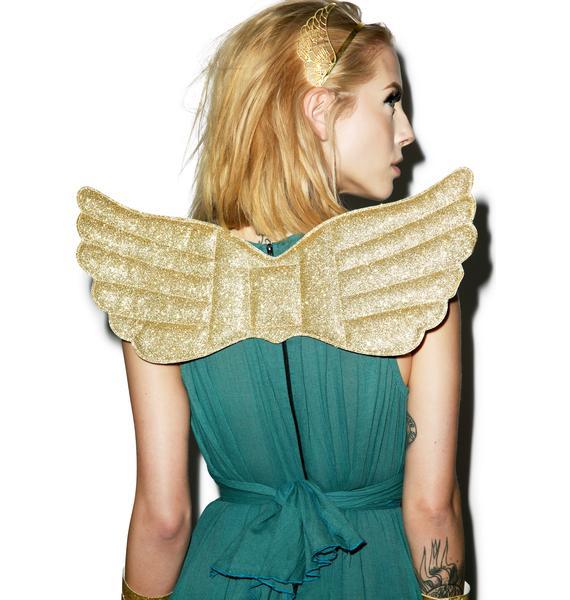 Golden Goddess Wings