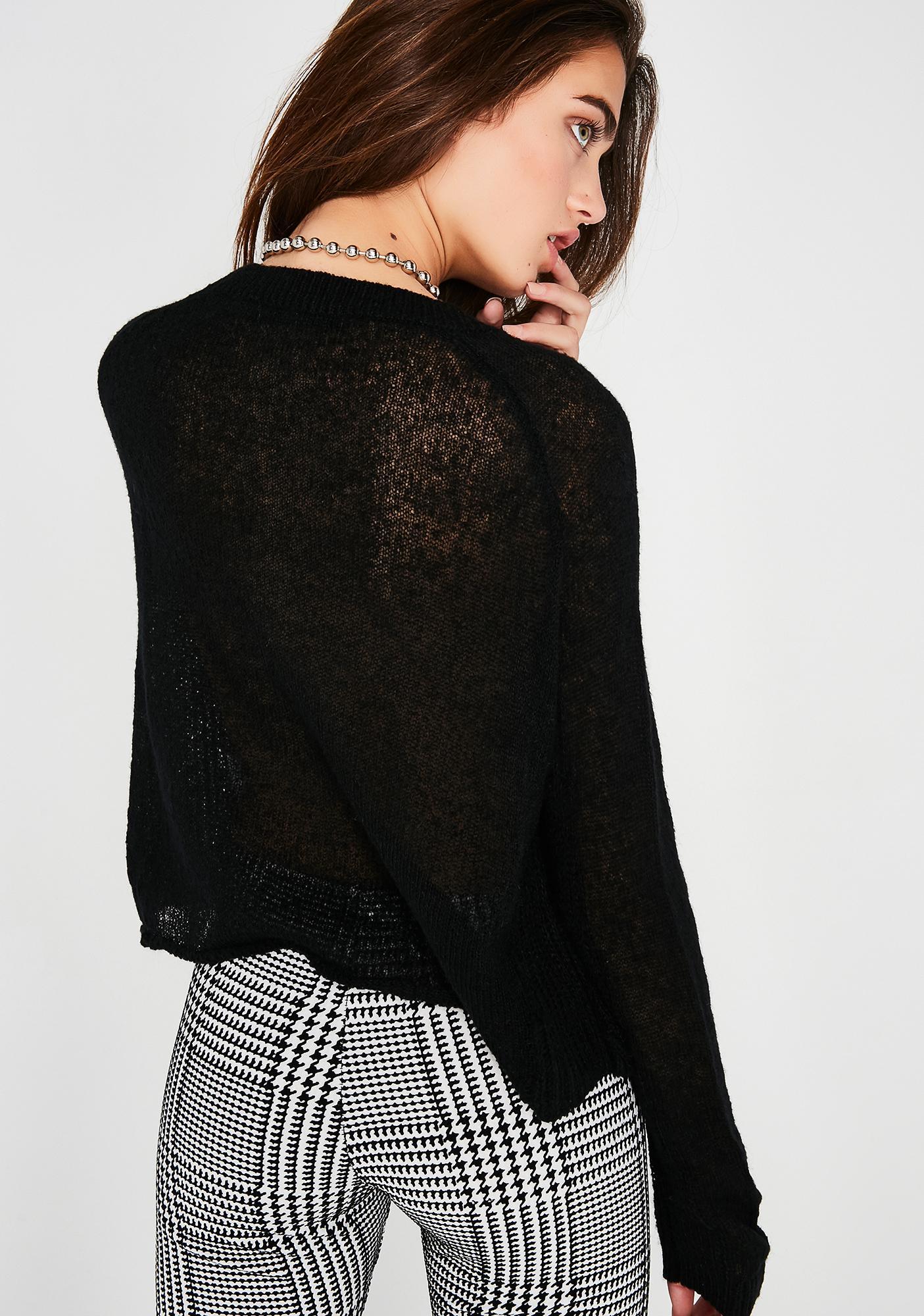 Dark Times Sweater