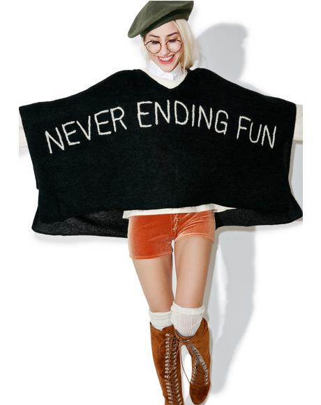 Never Ending Never Mind Poncho