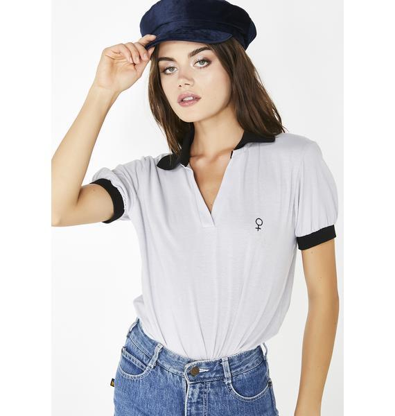 Valfré Fight Like A Girl Polo Shirt