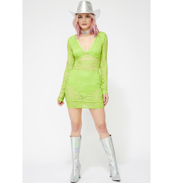 Go Go Glow Lace Dress