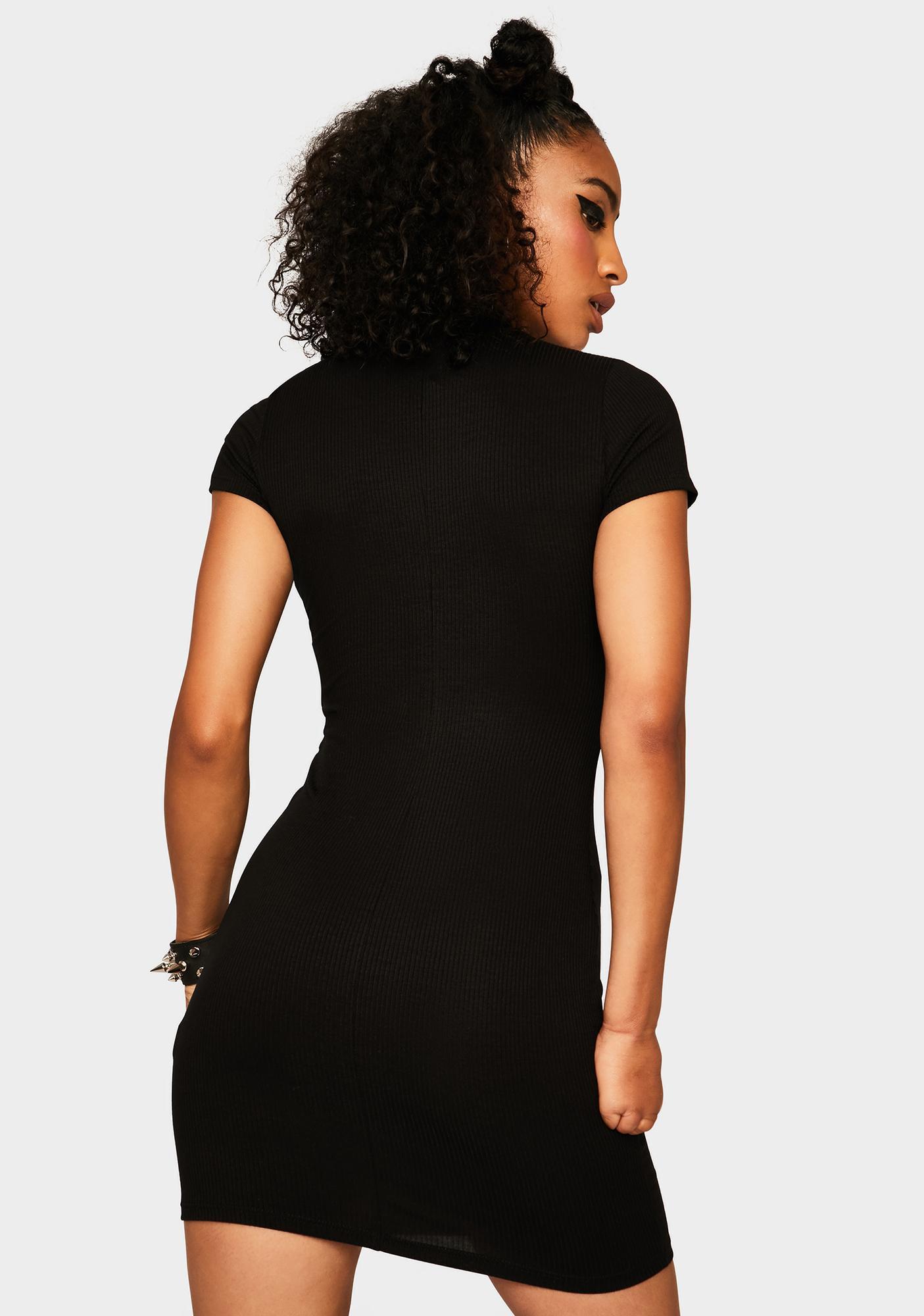 Fierce First Impression Mini Dress