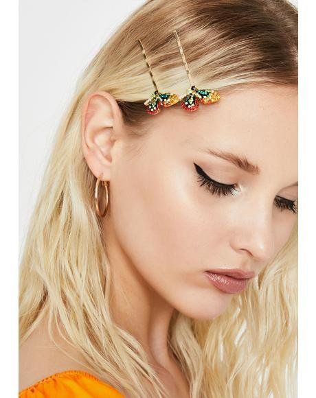 Fly Away With Me Butterfly Hair Clips