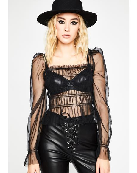 Spell On You Sheer Top