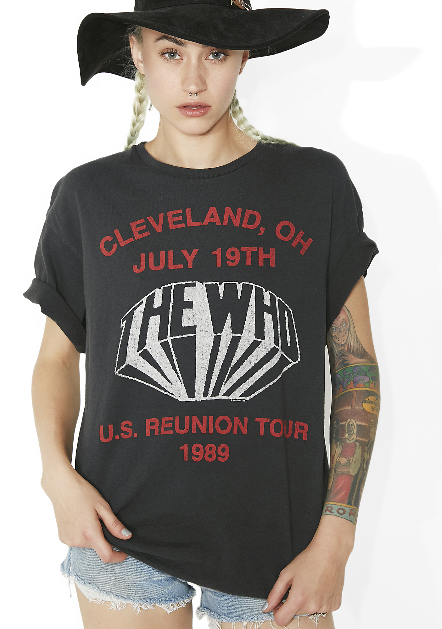 Junk Food Clothing Cleveland- OH Tee