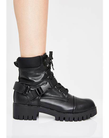 Militia Burn Combat Boots