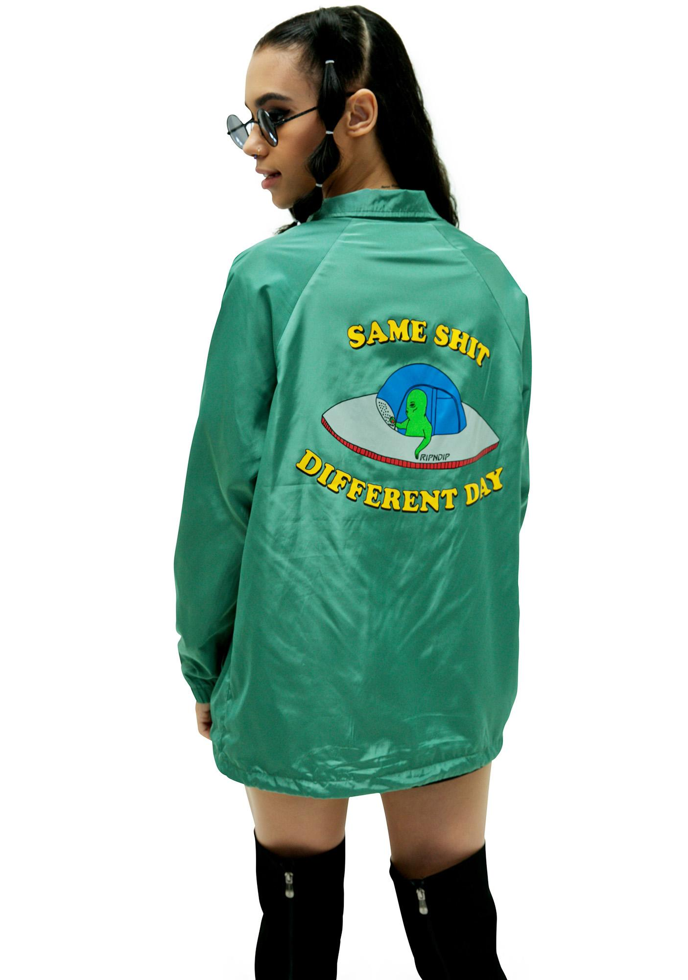 RIPNDIP Same Shit Coaches Jacket