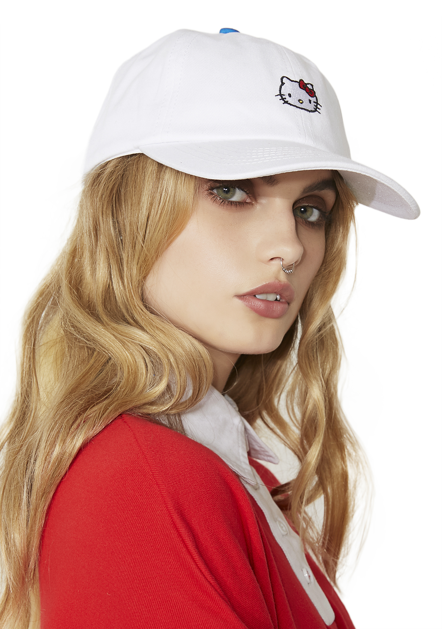 Lazy Oaf Hello Kitty Bow Tie Cap