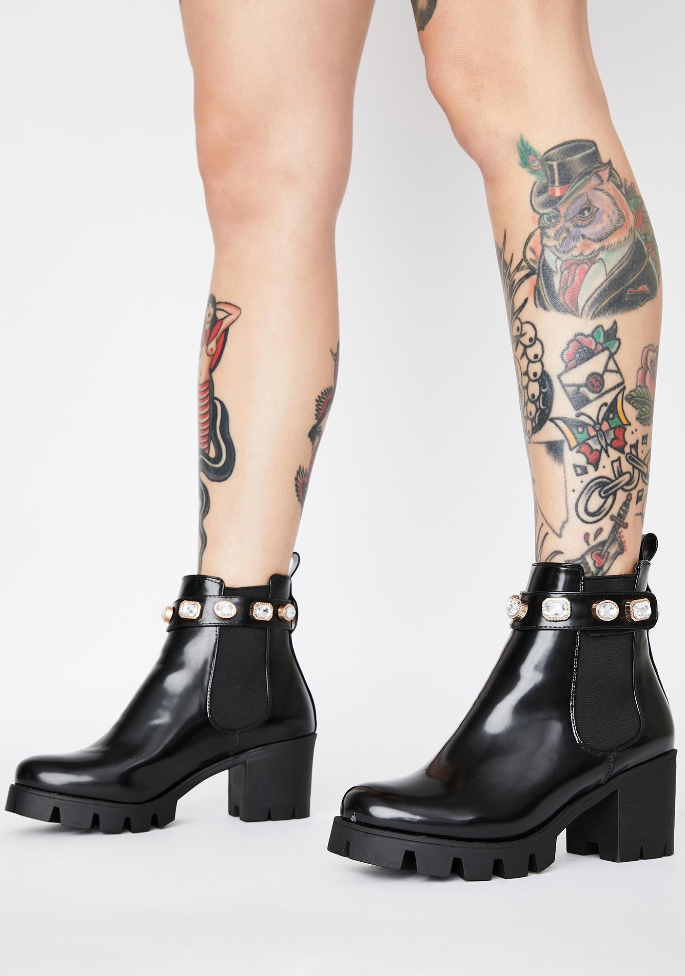 AZALEA WANG Come Back For Me Ankle Boots