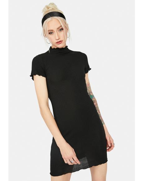 Lucid Love Ribbed Mini Dress