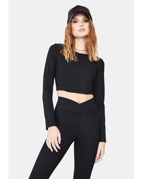 Nancy Thermal Crop Top